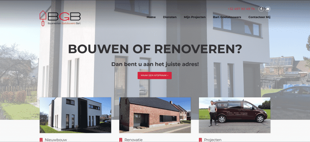 bouwwerken goetstouwers bart | webkave Loenhout